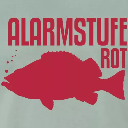 Norwegen Angler T-Shirt «Alarmstufe Rot»