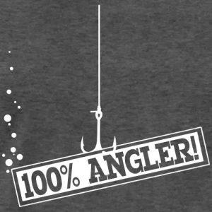 Angler T-Shirt «100 Prozent Angler»