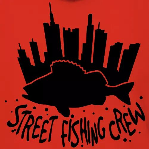 Angler T-Shirt «Street fishing crew»