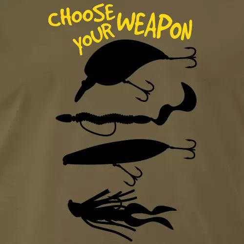 Hecht T-Shirt «Choose your weapon!»