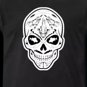 Angler T-Shirt Raubfisch-Skull