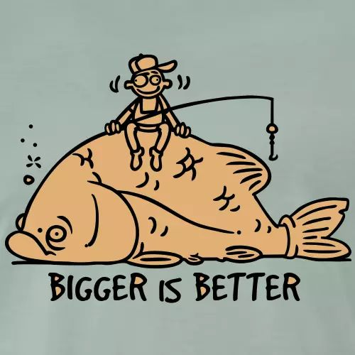 Angel T-Shirt «Bigger is better»