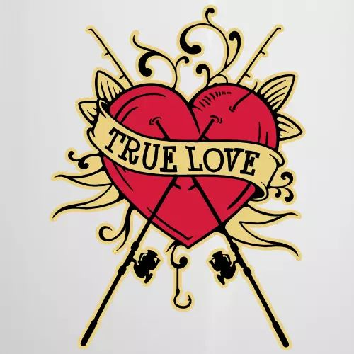 Angler T-Shirt «True Love»