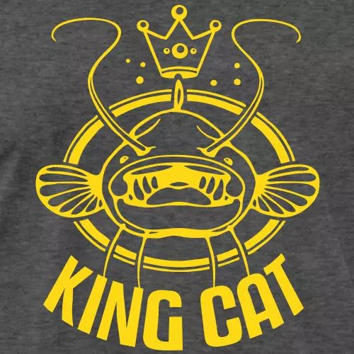 Waller Angler T-Shirt «King Cat»