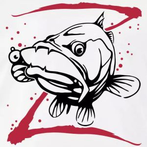 Angler Zander T-Shirt