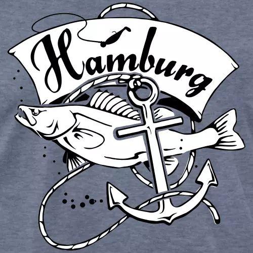 Zander T-Shirt «Hamburg»
