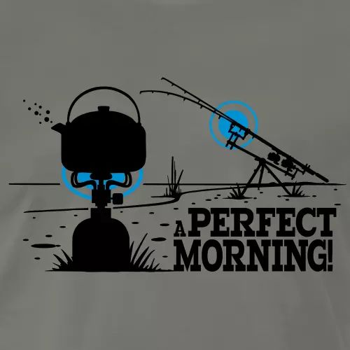 Karpfen T-Shirt «A perfect morning»