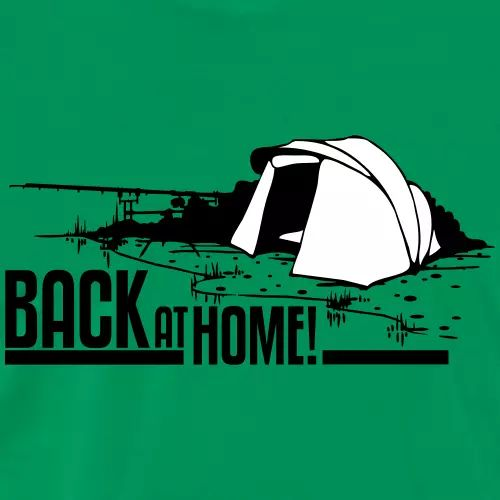 Karpfen T-Shirt «Back at home!»