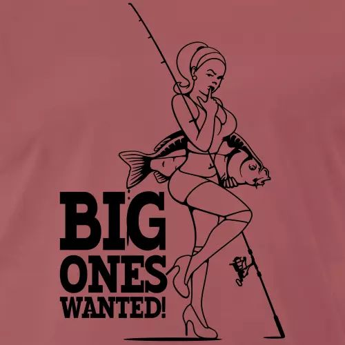 Karpfen T-Shirt «Big ones wanted!»