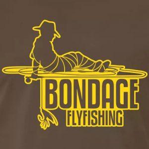 T-Shirt Fliegenfischen «Bondage Flyfishing»