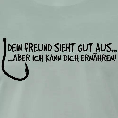 Angler T-Shirt «Dein Freund sieht gut aus»